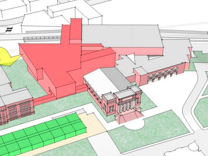 Somerville High School Building Project Has Begun