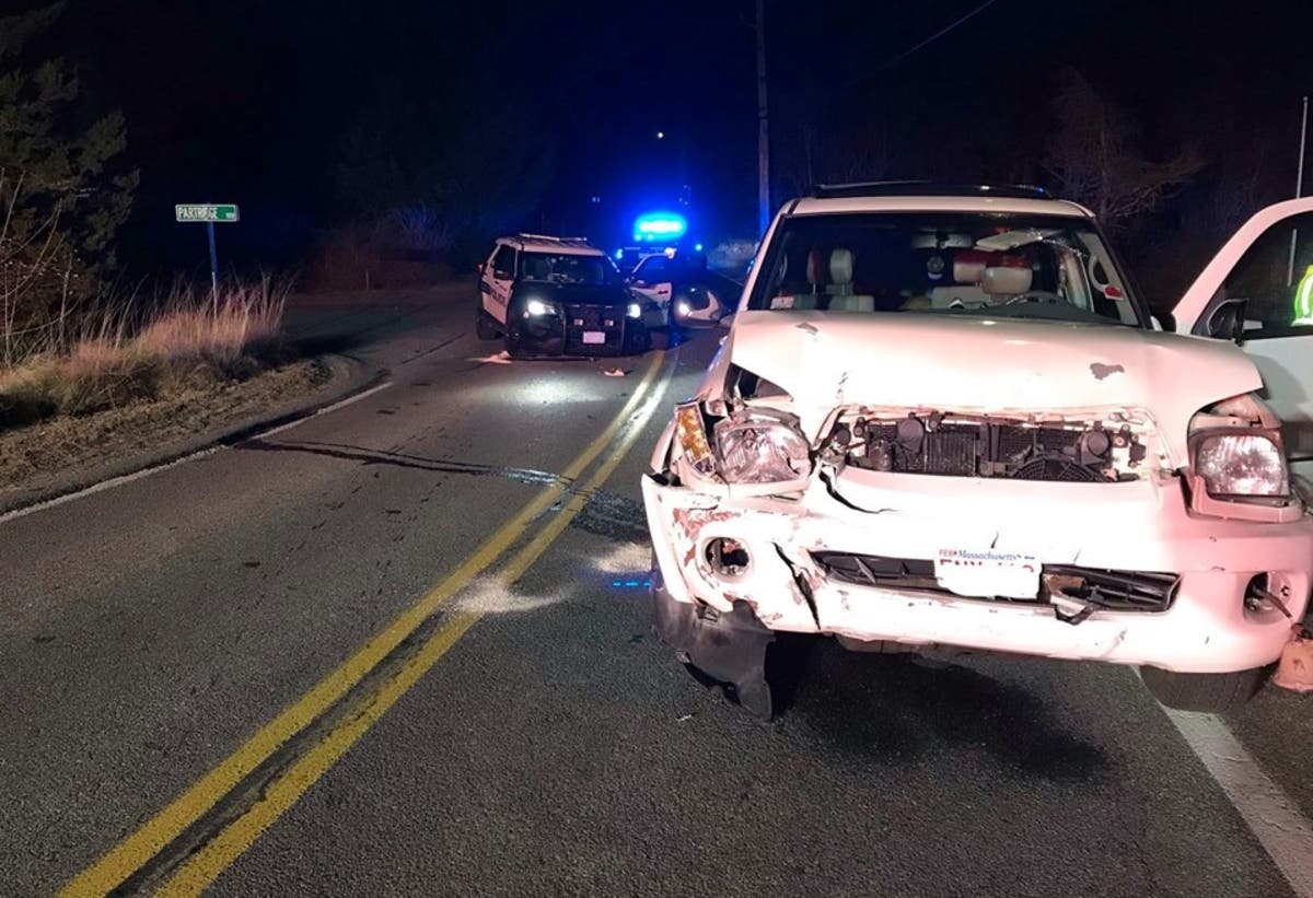 Police Officer Involved In Crash On Cape Cod | Barnstable, MA Patch
