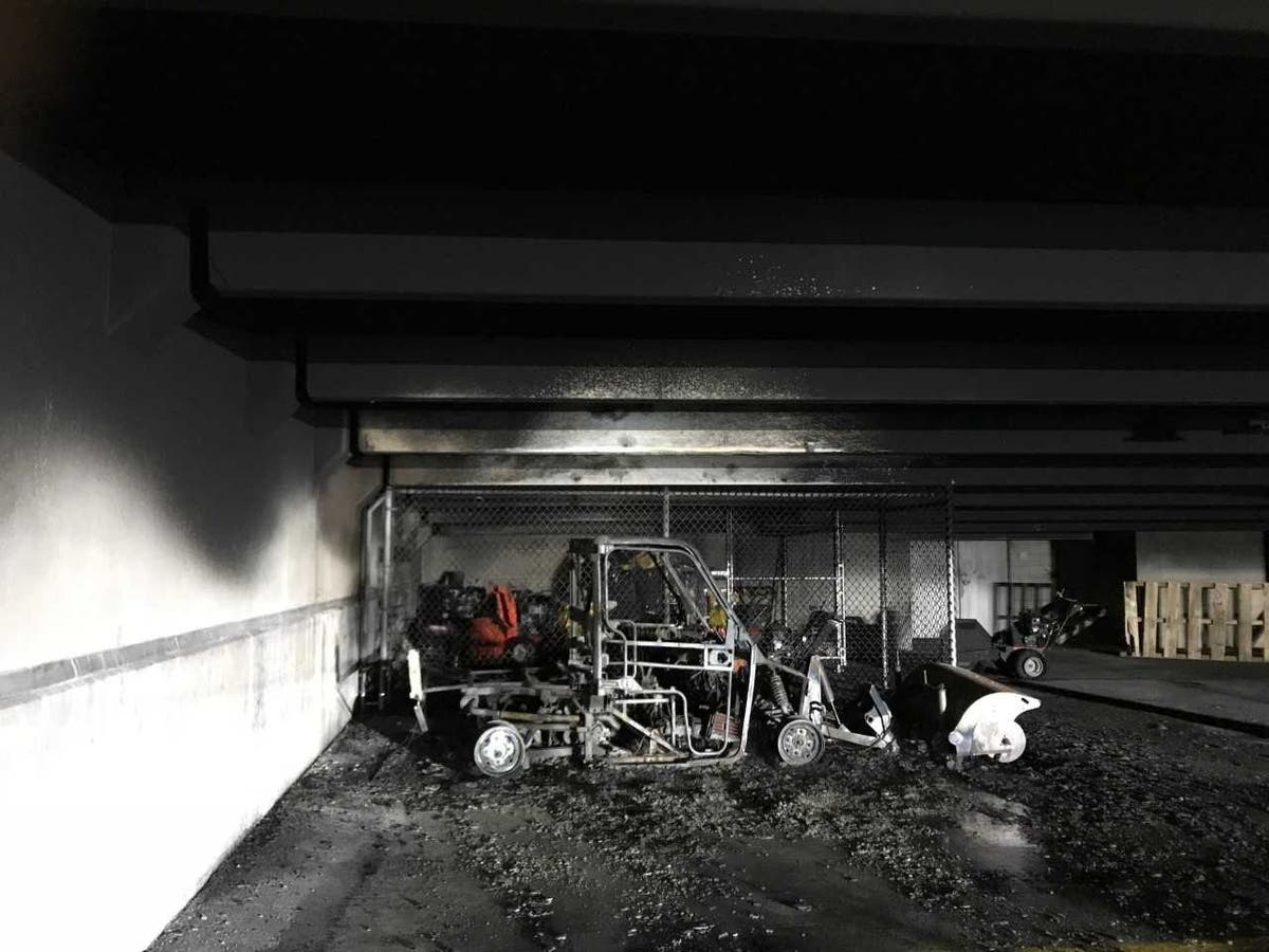 Fire Damages Partners HealthCare Garage At Assembly Row | Somerville