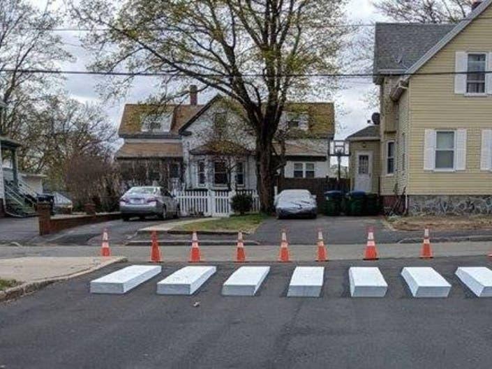3D Crosswalk At Medford School Increases Safety: Officials