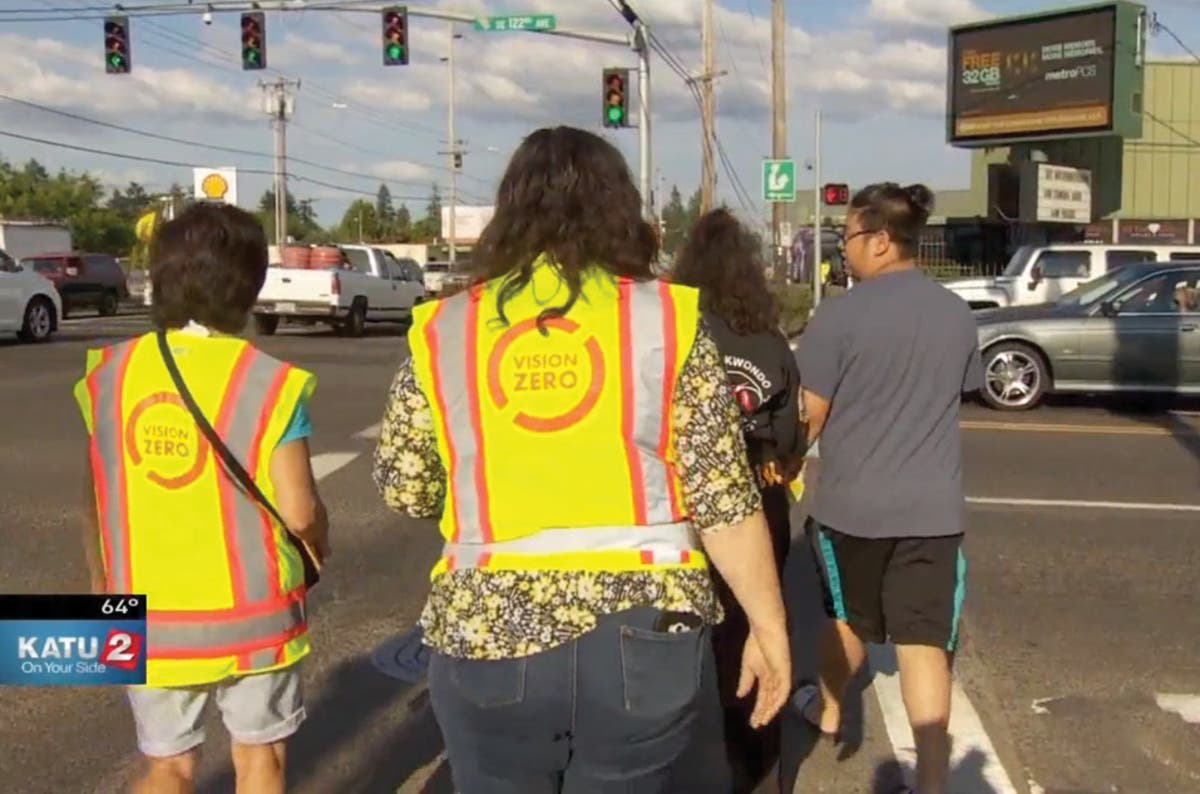 Portland Traffic: Another Crackdown As City Aims For Vision Zero