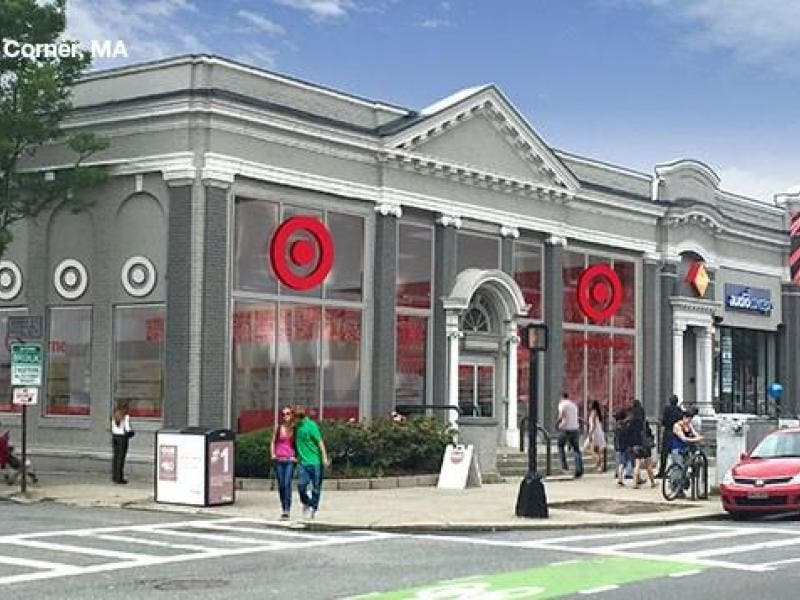 new comm ave target opens