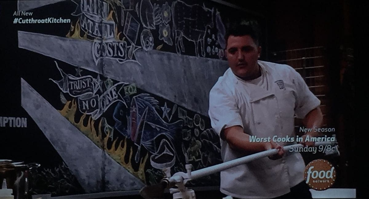 Framingham Chef Redeemed On Cutthroat Kitchen Almost