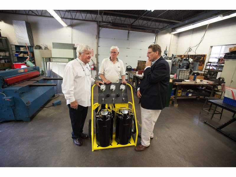 Rep  Morin Congratulates Kell-Strom Tool on 75 Years