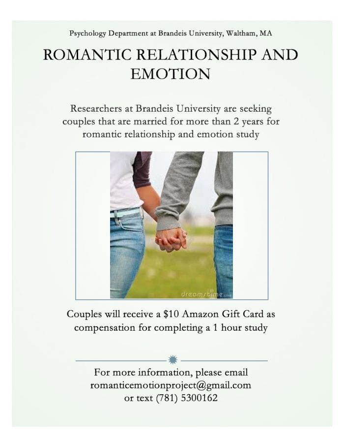 Psychology Study is Seeking Participants (Romantic Relationship and