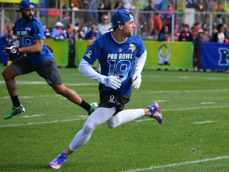 official photos fce18 3e266 Vikings First-Year Pro Bowl WR Thielen Excited to be in ...