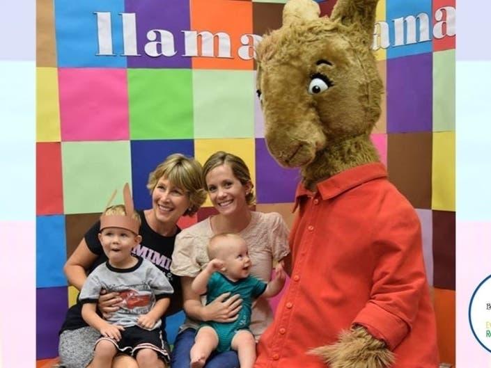 Llama Llama Storytime Invitation; Ribbon Cutting; More Local News