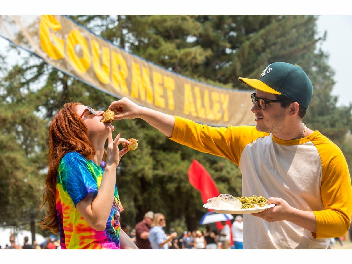 Gilroy Garlic Festival Under Way Caltrain Offering