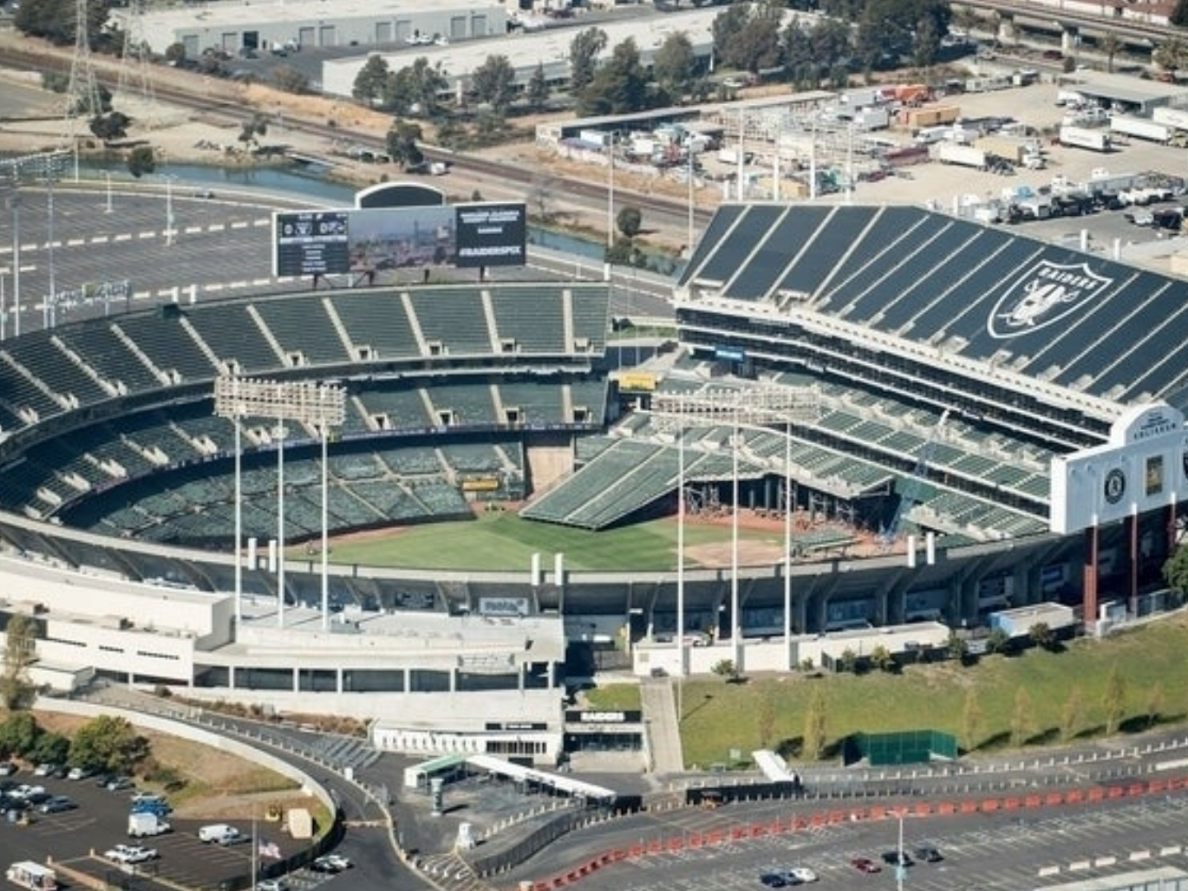 Oakland-Alameda Co  Coliseum Naming Rights Cemented | Pleasanton, CA