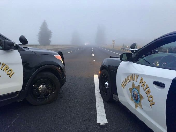 Chase, Standoff Close U.S. Highway 101 In Sonoma County
