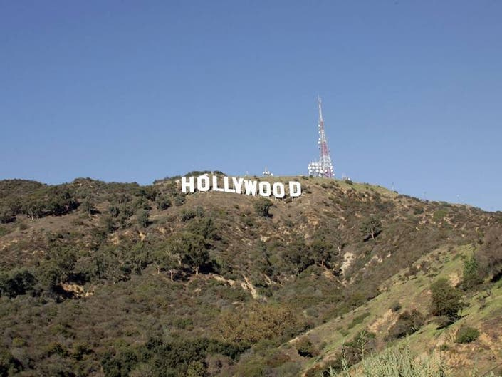 New Art Deco-Inspired Signs Point The Way To Hollywood Sign