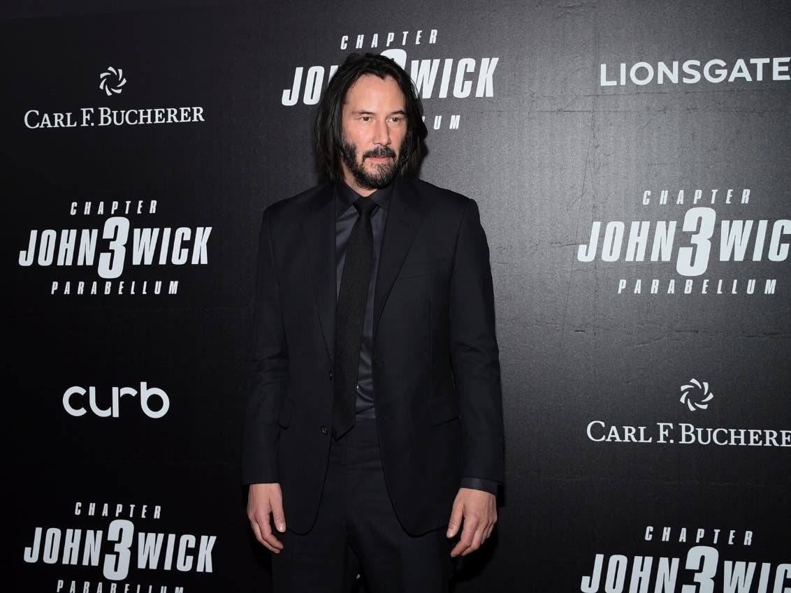 Keanu Reeves To Leave His Mark At Tcl Chinese Theatre Hollywood