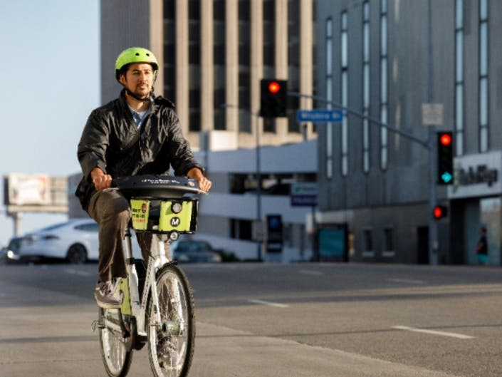 Electric Bikes Invade Los Angeles