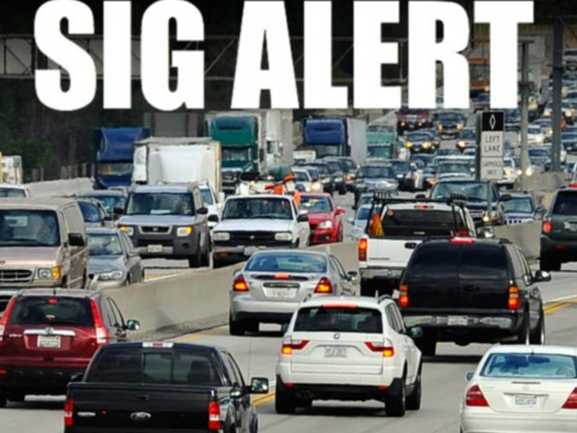 Fatal 405 Freeway Crash Triggers SigAlert In Van Nuys