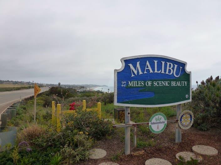 Malibu Park Parking Lots Close Because Of Storm Malibu