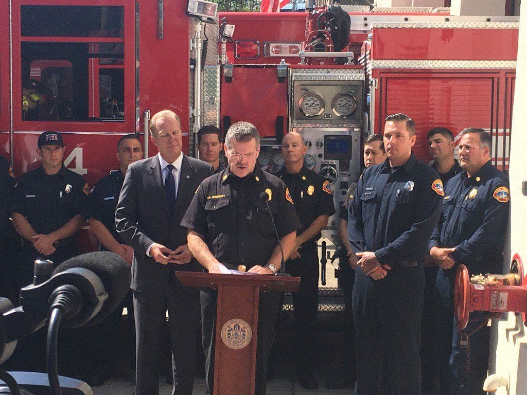 San Diego Firefighter Selected for Governor's Public Safety
