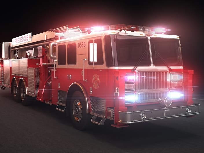 2 People, Dog Displaced In Santee Mobile Home Fire