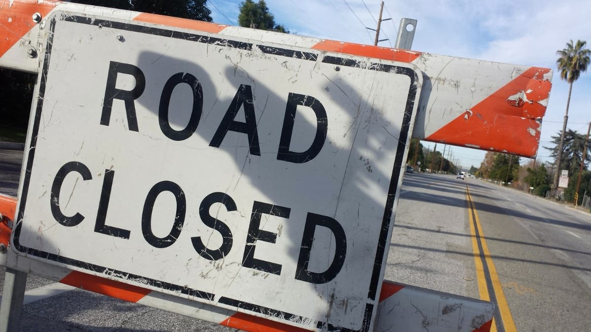 Canyon Road Closed Lamorinda Ca Patch