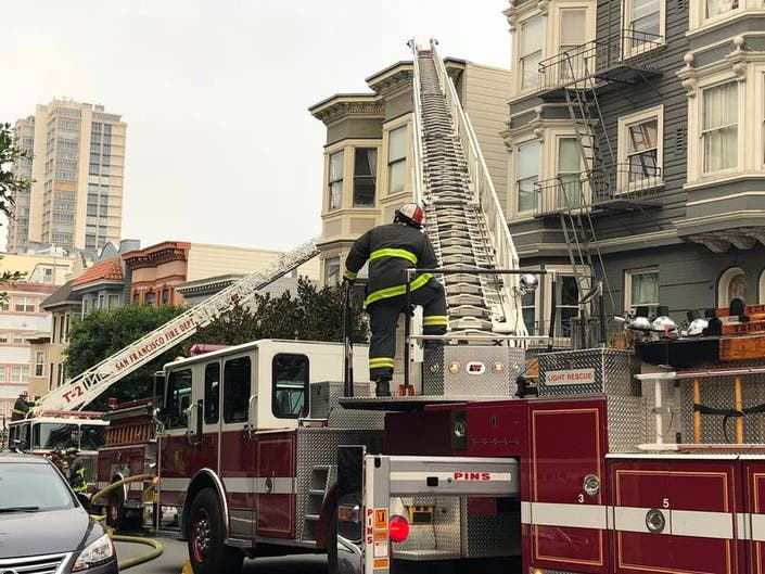 Woman Injured In San Francisco Fire San Francisco Ca Patch