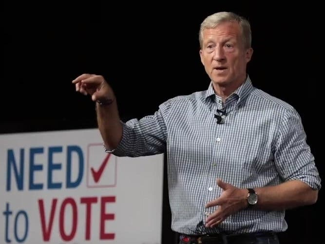 Billionaire Philanthropist Tom Steyer Announces Presidential Run
