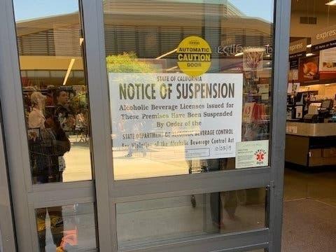 Liquor License Suspended At Safeway On College Avenue | Rockridge