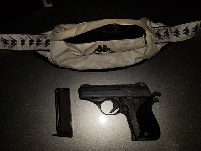 Man Arrested For Alleged Possession Of Loaded, Concealed Firearm