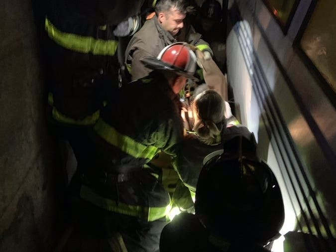 Man With Walker Tumbles Onto BART Tracks Sunday
