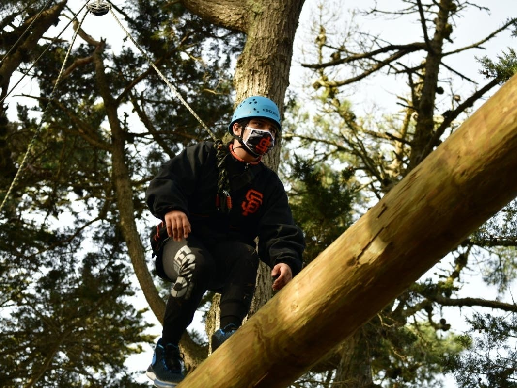 Challenging Ropes Course Opens At San Francisco Park