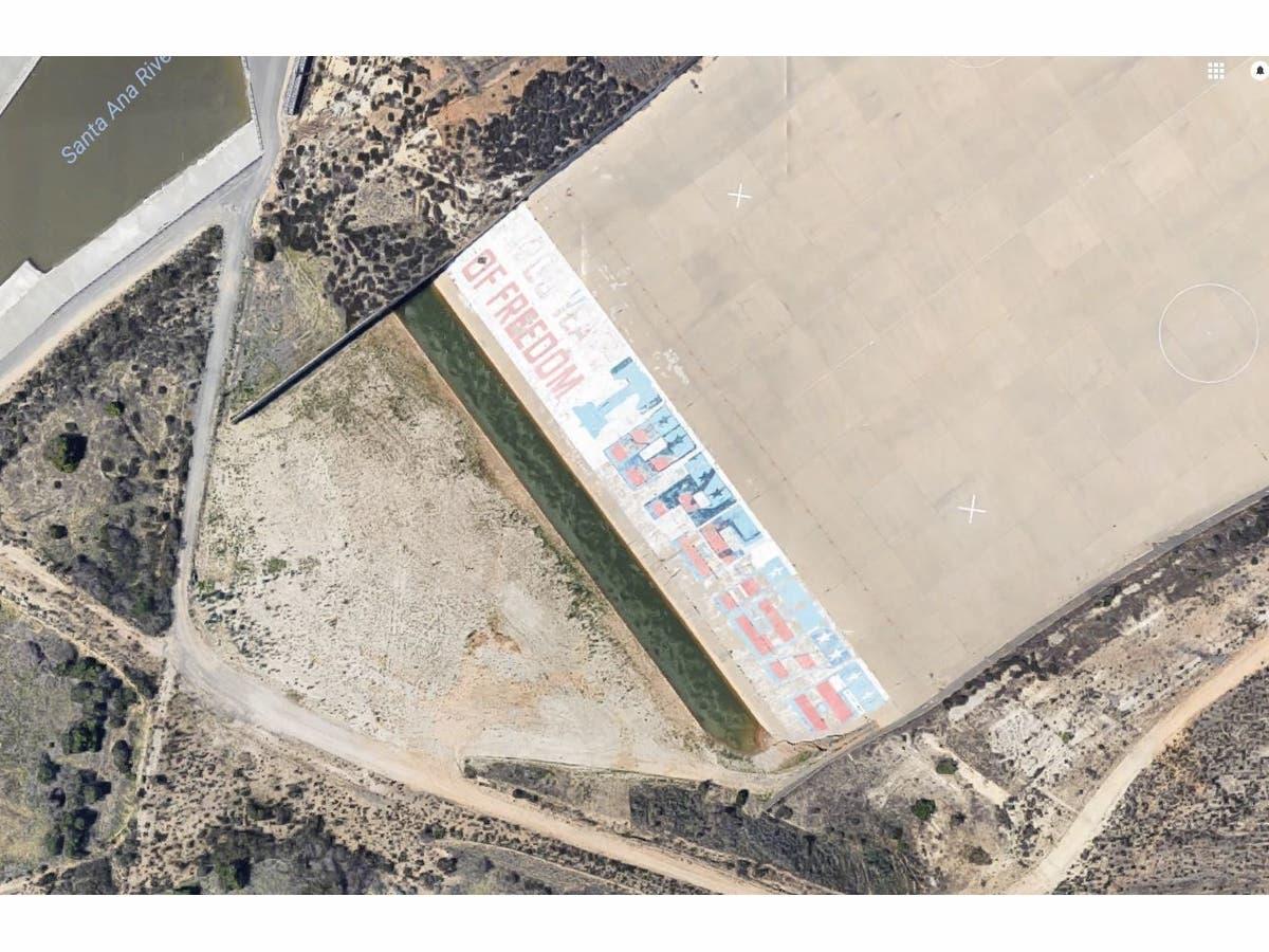 Future Of Famous Mural Alongside 91 Freeway Uncertain As