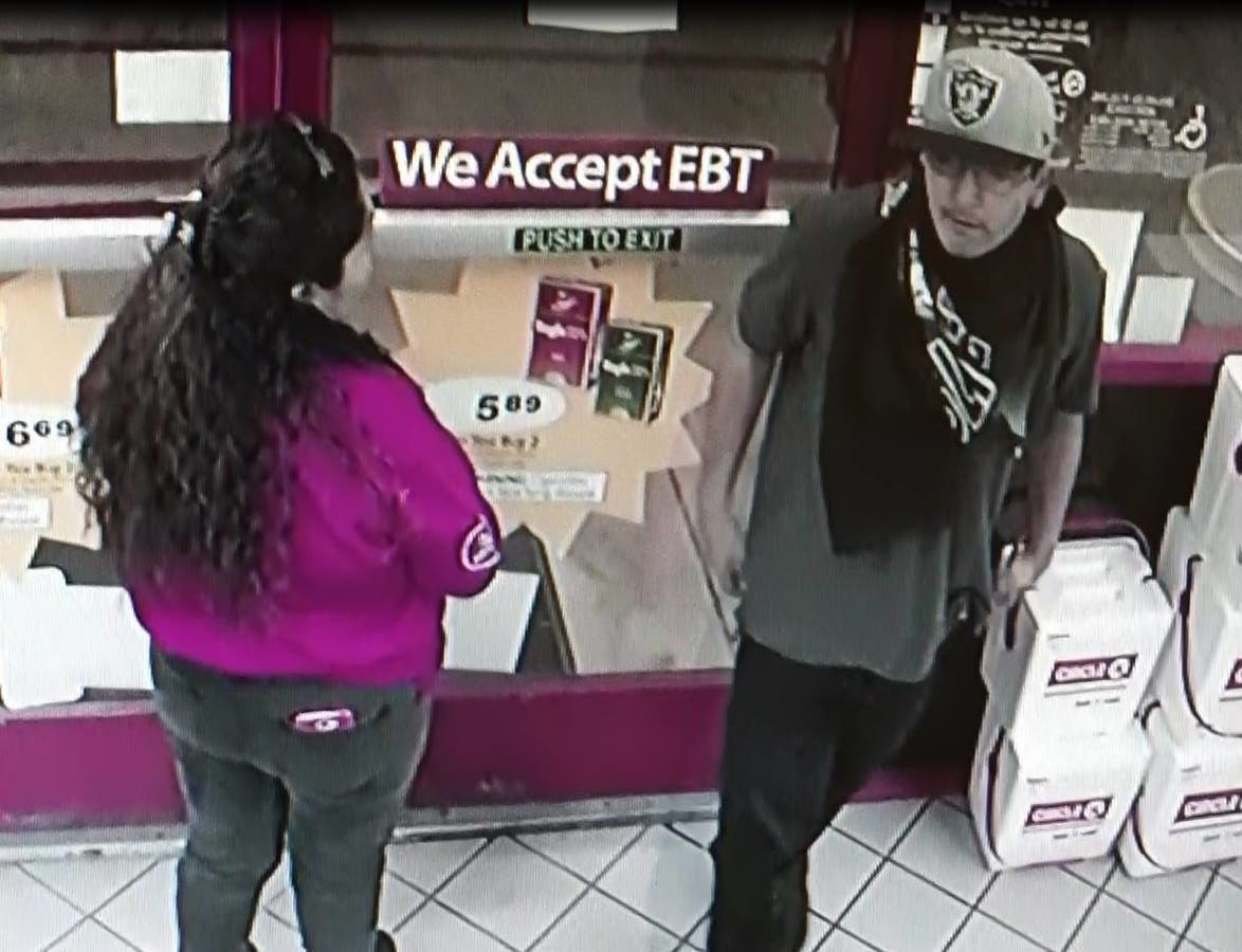 Suspect Sought In Armed Hold-Up Of Indio Circle K | Palm
