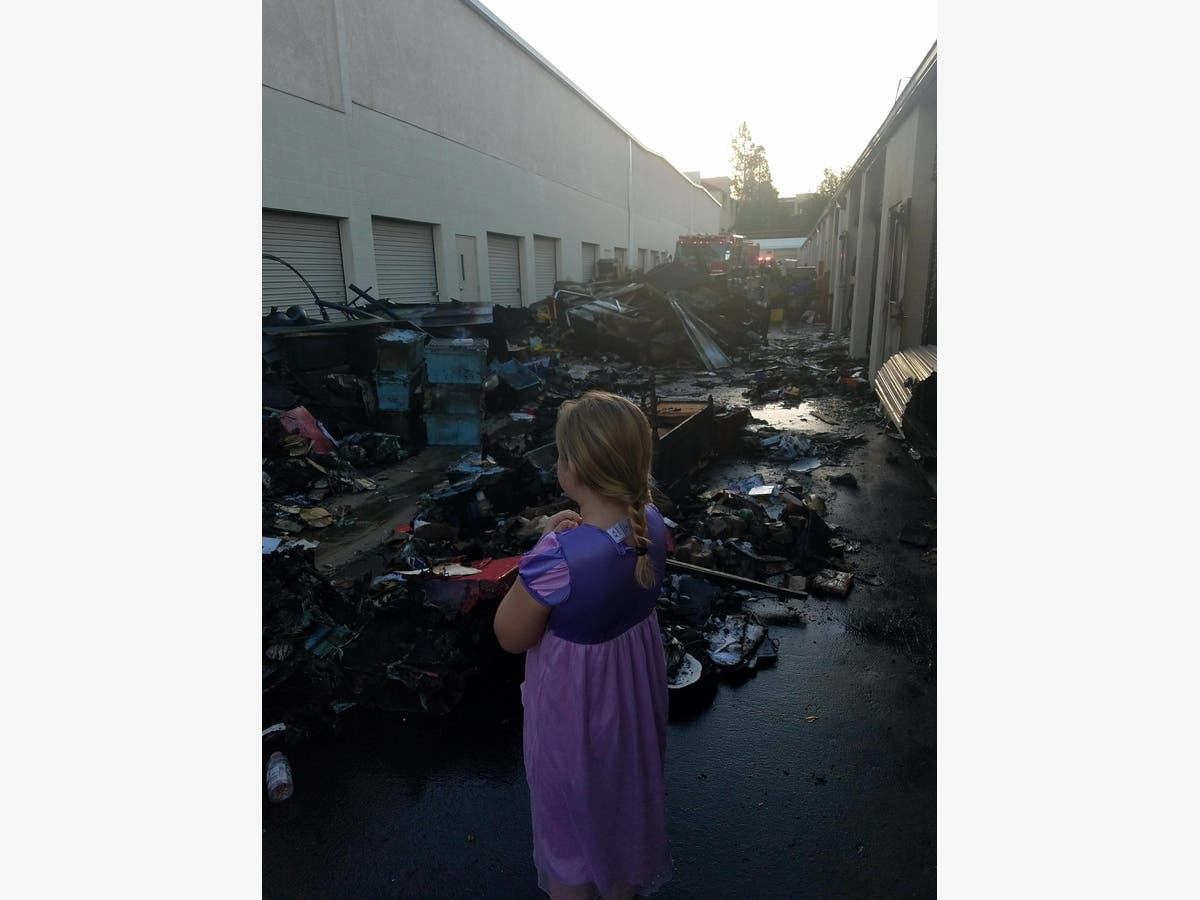 Charmant Temecula Fire Devastates Storage Facility, But Crews Stop ...