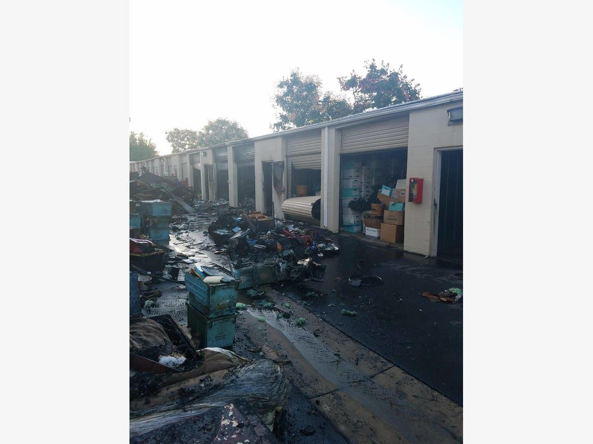 Temecula Fire Devastates Storage Facility, But Crews Stop ...