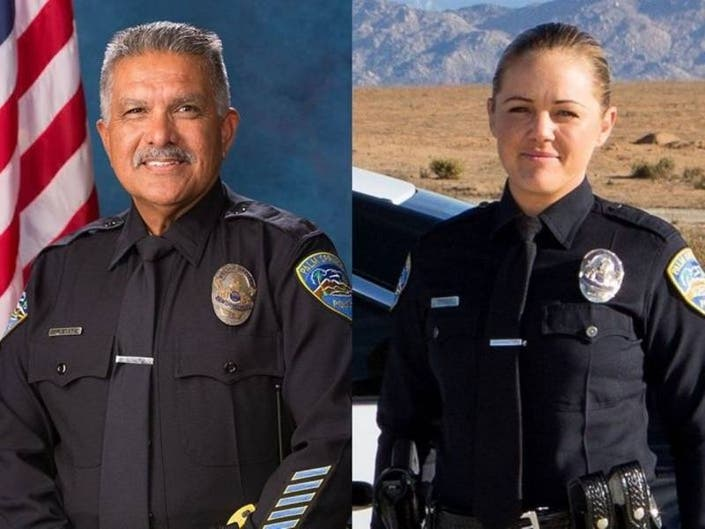 Palm Springs Officer Says He Held Dying Colleague During Shooting