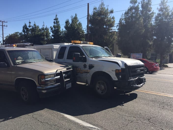 Animal Control Vehicle Struck By Hemet Hit-and-Run Driver