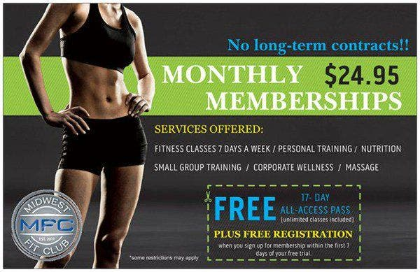 17 Day FREE All-Access Fitness Pass | Plainfield, IL Patch
