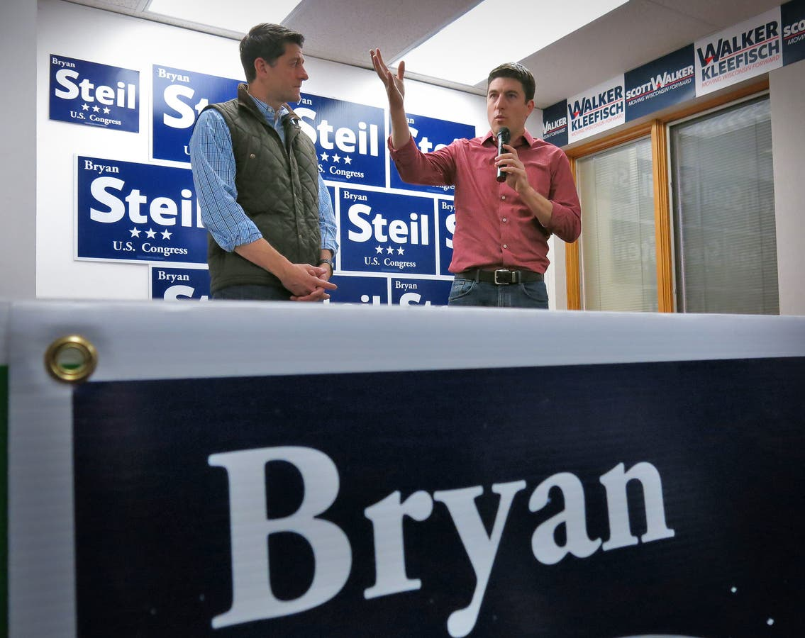 In Photos: Paul Ryan And Bryan Steil Stop At GOP
