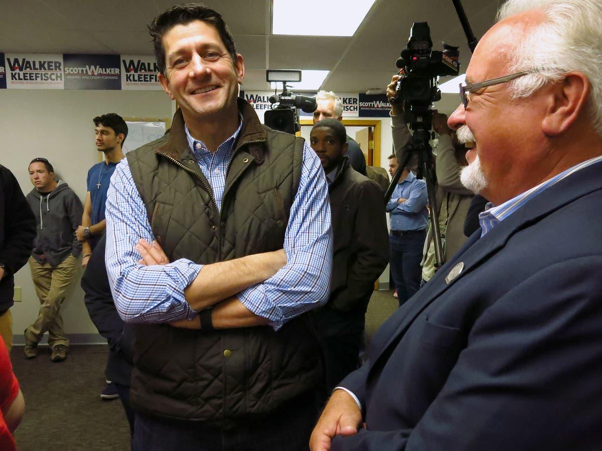 In Photos: Paul Ryan And Bryan Steil Stop At GOP