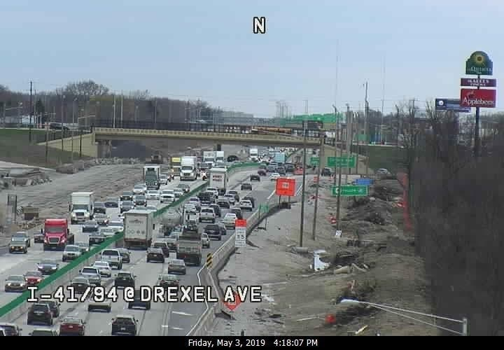 One Dead In I-94 Crash, Backups More Than 5 Miles: Report