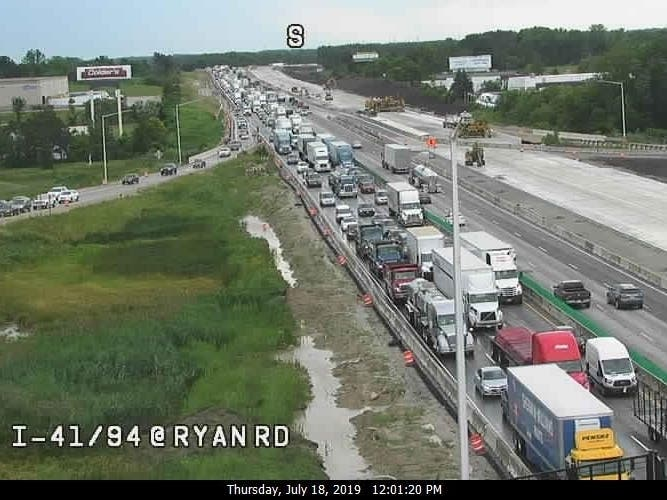 Second Crash Reported On I-94, Traffic Being Diverted: Report | Oak