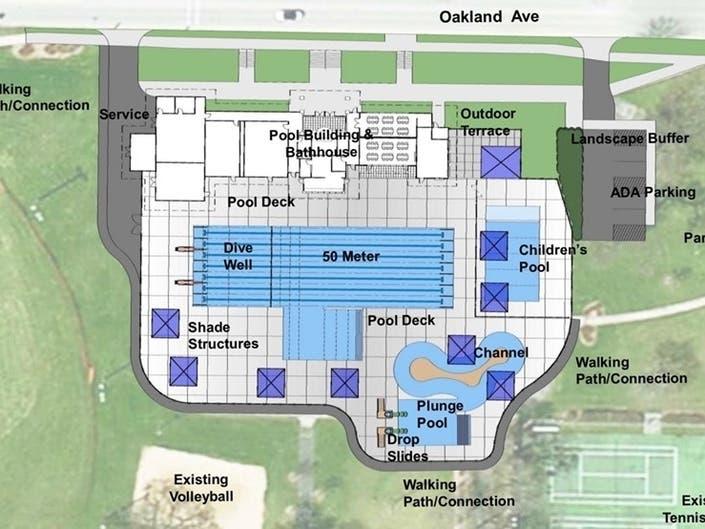Parks Officials Support $7.8 Million Buchner Pool Upgrade