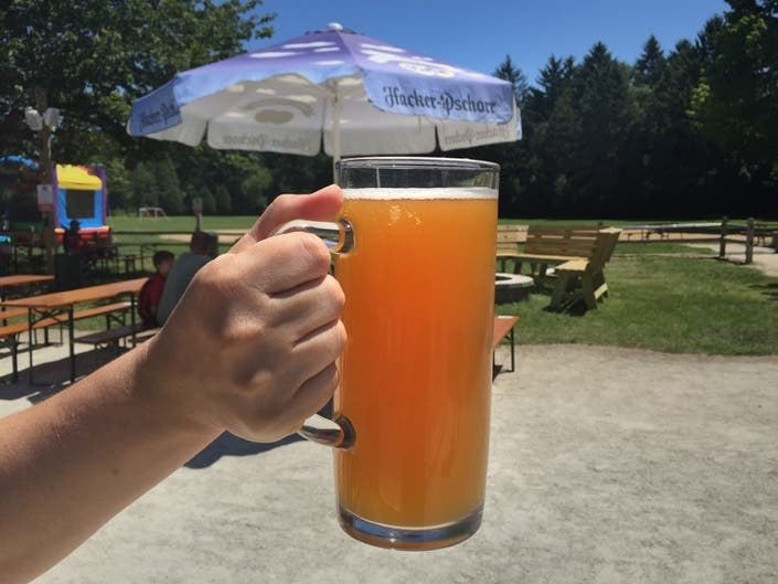 Rivers Crossing Beer Garden Starts Thursday