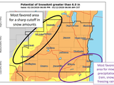 Wisconsin Weather: Up To 9 Inches Of Snow Coming