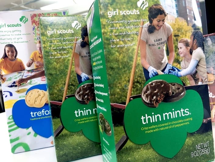 Wisconsin Police Warn Of Highly Addictive Girl Scout Cookies