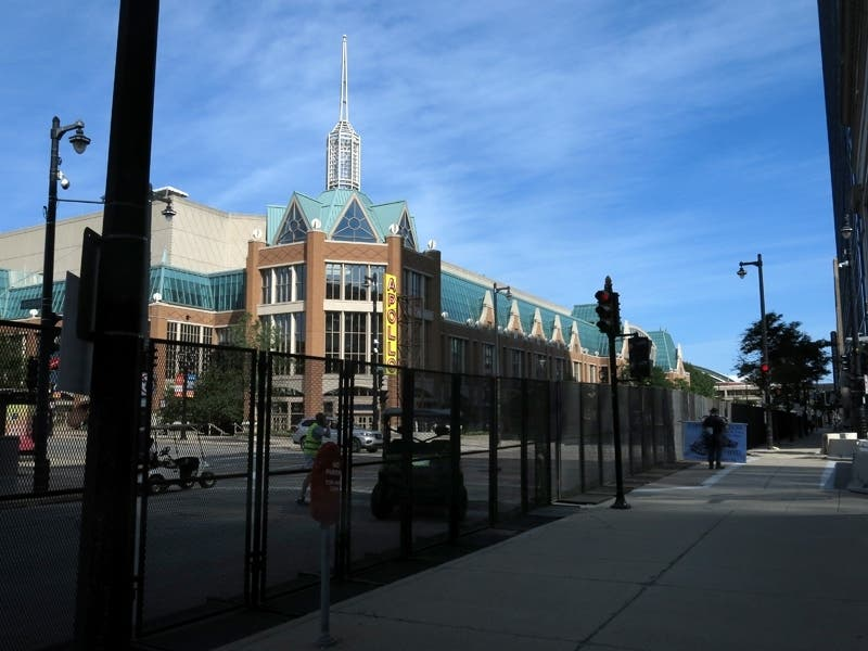 Milwaukee 2020 DNC Day 1: High Fences And Empty Streets