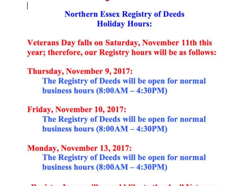 Northern essex registry of deeds galleries 1