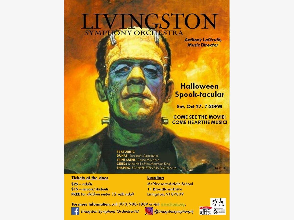 Halloween Spooktacular Movie.Livingston Symphony Orchestra Presents Halloween