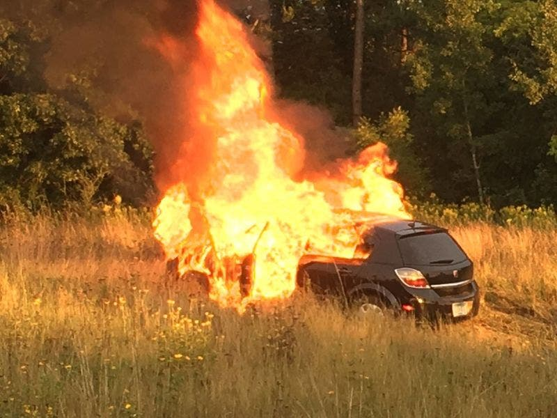 Massive Car Fire Leads To Dui Arrest In Cottage Grove Patch