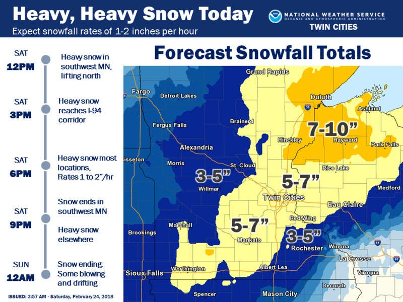 Weather - Minnesota Weather Forecast From WCCO News, CBS ...