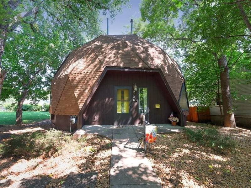 Geodesic Dome Home On Sale Now In Minneapolis Photos