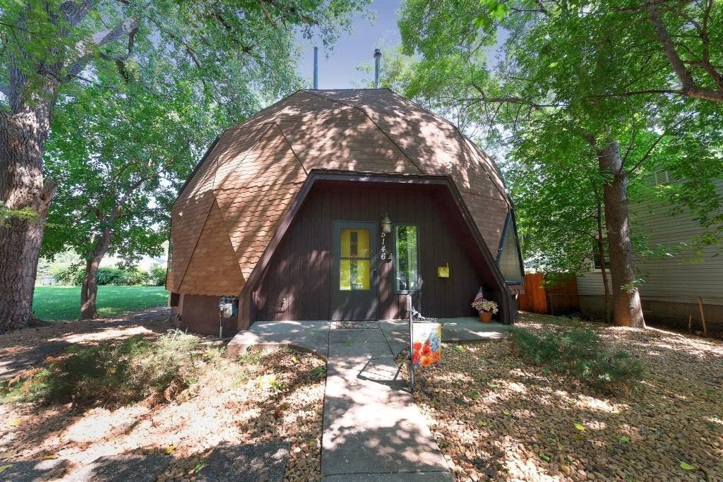 Geodesic Dome Home On Sale Now In Minneapolis Photos Southwest